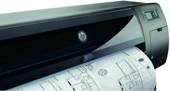 HP DesignJet T1700. Четкие линии