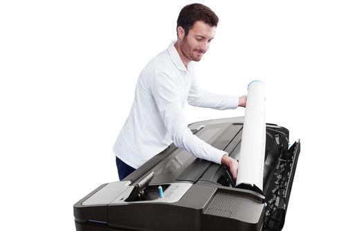 HP DesignJet T1700. Эффективность
